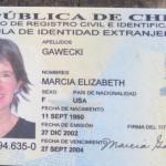 My Chilean ID card