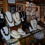 Amanda is an accomplished artist who makes jewelry and jeweled scuptures