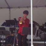 Caleb Hensinger, jazz semi-finalist