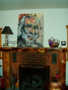 Robert Towne Portrait by Caleigh