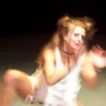leva portrays an inmate in a piece choreographed by Ariann