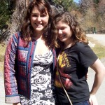 (from L) Michelle, who attended the Denver conference, and her friend, Becky