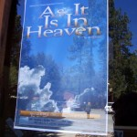 """""""As it is in Heaven"""" play poster at Idyllwild Arts"""