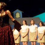 Fion Chen as Miss Soursheen in the IM production Friday & Saturday