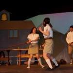 Sword action between town kids Anaya and Kwan