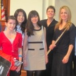 (from L) Idyllwild Arts Supporters: Henry, Shen, Elena, Yoana, Cynthia, Suriah, Carolyn, Sara, William & Peter