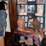 Idyllwild Arts ceramics students got a sneak preview of the exhibit