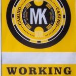 The Mark Knopfler badge I wore backstage at Pechanga Casino