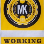 The backstage badge for Mark Knopfler's concert