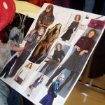 Mood boards help students in the Costume Shop stick to the script