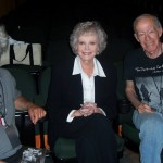 (from L) Jeffrey Taylor, actress June Lockhart and Charles Schlacks at the 2010 Film Noir Festival