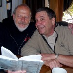 """(from L) Last year's show featured Lou Bacher and Vic Sirkin as the """"Odd Couple"""""""