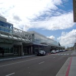 Ontario Airport didn't receive any damage