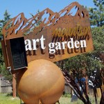 Dore's art garden has many more sculptures to see