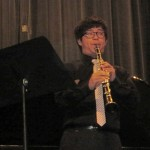 Shen will play a clarinet solo with the student orchestra Sat. and Sun.
