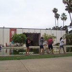 MOPA is located in Balboa Park, the site of many museums and attractions