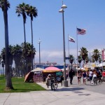 Venice Beach offered a plethora of treasures to the young photo students