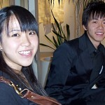 (from L) Pianists Keri and Timmy at the Winners Concert in Glendale