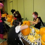 Group carves away