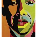 President Obama portrait by Marcia E. Gawecki, Idyllwild