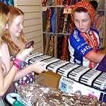 Teen students from the U.S. and Mexico learn to sew at Idyllwild Arts