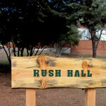 For a change, the play was held at Rush Hall on campus