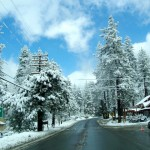 Many of the musical's scenes were set during winter. Folks in Idyllwild know about the challenges of four seasons.