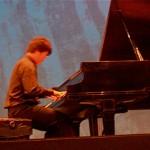 Bohan performed a classical piano piece