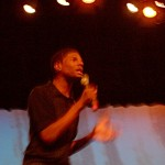 Juwan had to change his monologue for the second show