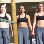 Adrianna (center) will be among those showcasing her choreographic dance talents this week