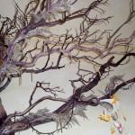 Close up of the manzanita tree branches