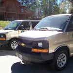Idyllwild Arts just added two new gold vans to their fleet