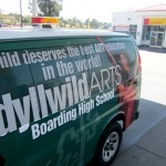 'Your child deserves the best art education in the world,' is the message printed next to Paulina