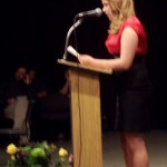 Emma read her poems, short stories and excerpt from her novel