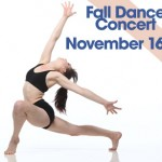 Delaney's dramatic dance pose graces the promotional posters. Courtesy photo.
