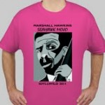 T-shirts, with Marshall's image, will be sold for $13 and $15